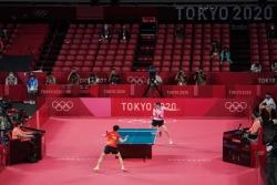 中国选手陈梦获得东京奥运会乒乓球女子单打冠军