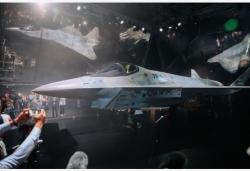 俄新型单发五代战斗机亮相第15届莫斯科航展