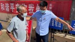 刘庄镇党员干部带头冲在核酸检测演练主战场