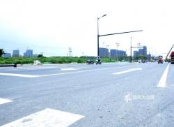 提前一个月通车!城北地区这条路改造成舒心路!