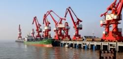 盐城首条国际直达集装箱班轮航线即将开通